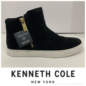 "Kenneth Cole ""Kiera"" Nubuck Leather Sneakers"